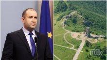 Президентът Румен Радев с емоционален поздрав за 3 март: Да си българин не е участ, а чест!