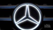 """""""Даймлер"""" изтегля от Великобритания 75 хил. автомобили """"Мерцедес Бенц"""" заради проблем с безопасността"""