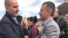 Цветанов се среща с избиратели в Банско и Разлог