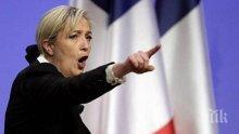 Марин Льо Пен губи симпатизанти за президентските избори