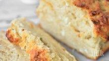 Бирен хляб със сирене