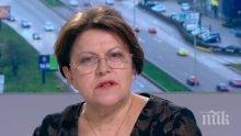 Татяна Дончева изригна срещу предизборните сметки: Социолозите манипулират! Те се изживяват като политически брокери