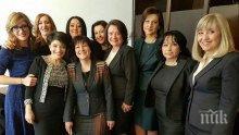 България е сред осемте членки на ЕС, в които участието на жените в политиката е под 20 %