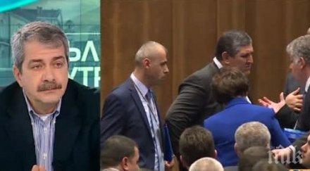 СКАНДАЛ! Евгений Михайлов се оправдава за посланик Гьокче на митинг на ДОСТ: Една фигура с палто на фона на хилядно множество