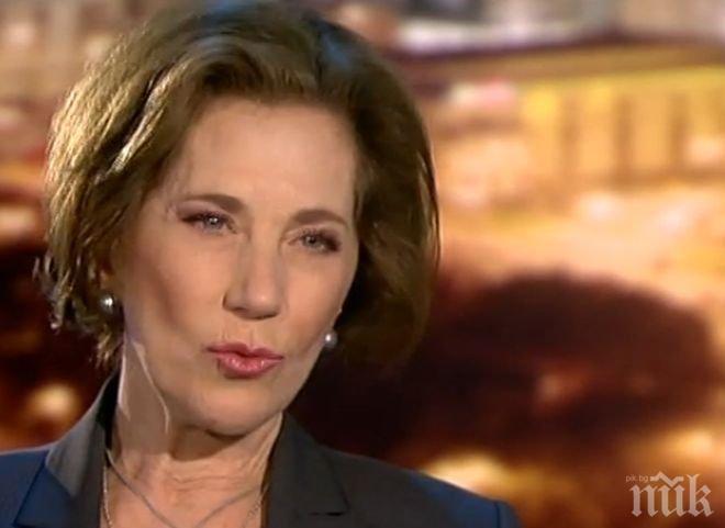 СЪЛЗИТЕ ПРОДЪЛЖАВАТ! Елена Поптодорова не спира да плаче, скандалът в Полша бил свързан с ДС - работили срещу нея