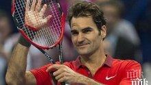 Федерер изнесе лекция на Надал! Джоко аут от Индиън Уелс
