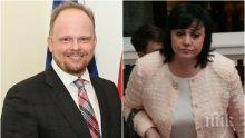 ПЪРВО В ПИК! Канадският посланик разби Корнелия Нинова за СЕТА