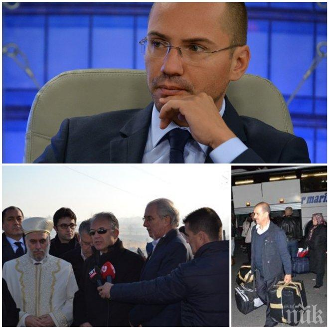 СКАНДАЛНО! Джамбазки: 60 000 изборни туристи идват от Турция! Ислямистка партия безплатно облепя бусовете на Местан