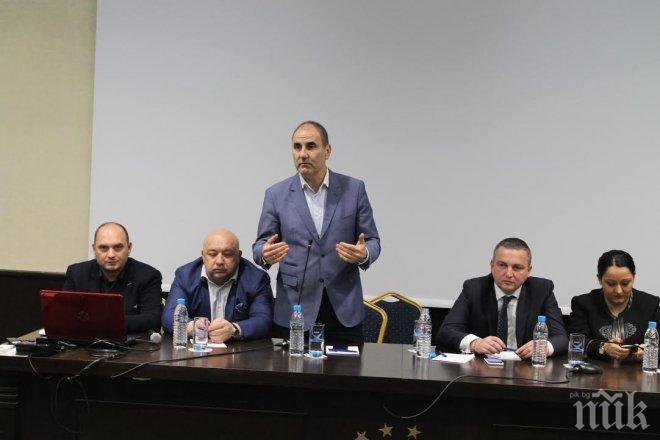 Цветанов във Варна: Няма да позволим БСП да разруши държавата