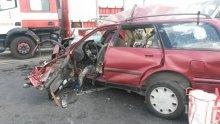 ЛУД КЪСМЕТ! Няма загинали и тежко пострадали при катастрофата до село Труд