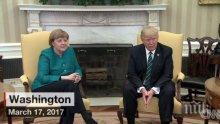 """Меркел чела """"Плейбой"""" преди срещата си с Тръмп"""