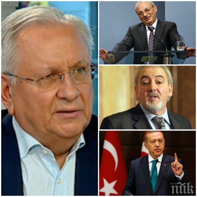 САМО В ПИК! Осман Октай изригна срещу Местан и Доган: Най-добре ще бъде ДПС и ДОСТ да се елиминират взаимно на изборите