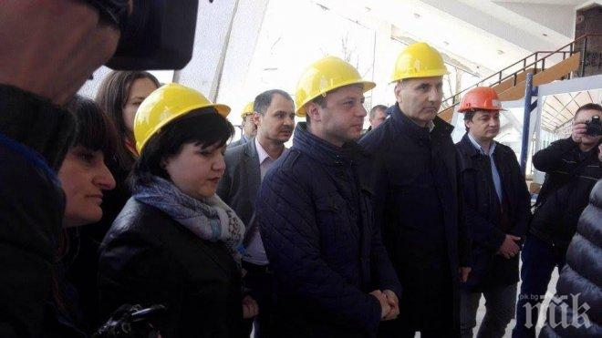 Цветанов в Димитровград: ГЕРБ ще изгради физкултурни салони във всички училища в страната
