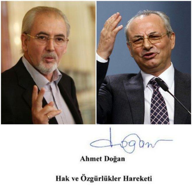 Скандалът се развихря! ДПС обявиха писмото от Доган за фалшиво! Местан: Подписът е автентичен и затова са в паника (СНИМКИ)