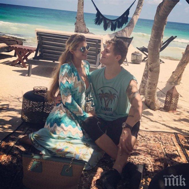Парис Хилтън избяга на романтична почивка с новото си гадже в Мексико