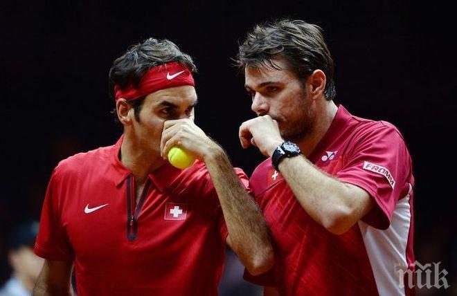 Швейцарски финал: Федерер срещу Вавринка в Индиън Уелс
