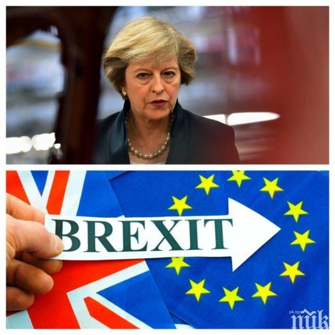 "Великобритания готви ""План Б"", ако преговорите за Брекзит не успеят"