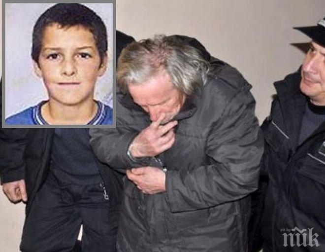 ОКОНЧАТЕЛНО: 18 години затвор за педофила, удушил 12-годишния Станислав