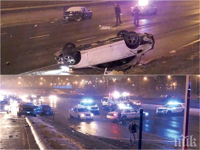СМЪРТОНОСЕН ЕКШЪН КАТО НА КИНО! Откраднаха колата на българка, докато вечеря - последва въоръжен грабеж и куп жестокости