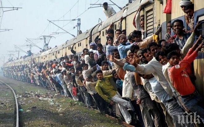 Куриоз! Индиец получи вместо пари цял влак