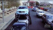 СТРАХОТНО: Създадоха автомобил, за който задръстванията в градовете не са проблем (ВИДЕО)