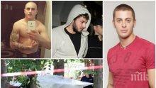 НОВА СТРАНИЦА! Братът на Йоан Матев - задържания за убийството в Борисовата градина, наду мускули, пъчи се с черепи (СНИМКИ)