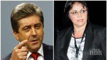 ЕКСКЛУЗИВНО! Георги Първанов с остра критика към Корнелия Нинова:  Прилича ми на късния Виденов