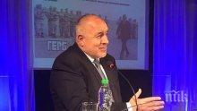 ЕКСКЛУЗИВНО! Бойко Борисов: От БСП лъжат, че ще настояват за отмяна на санкциите срещу Русия
