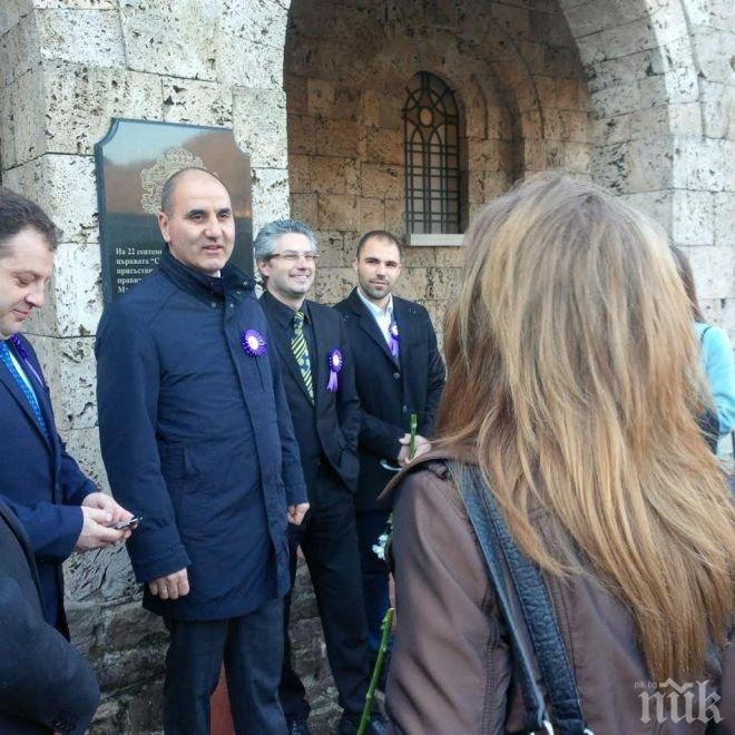Цветан Цветанов се включи в  празника на Велико Търново (СНИМКИ)