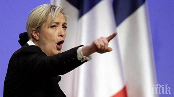 Марин Льо Пен вбеси опонентите си заради изказванията си за имигрантите