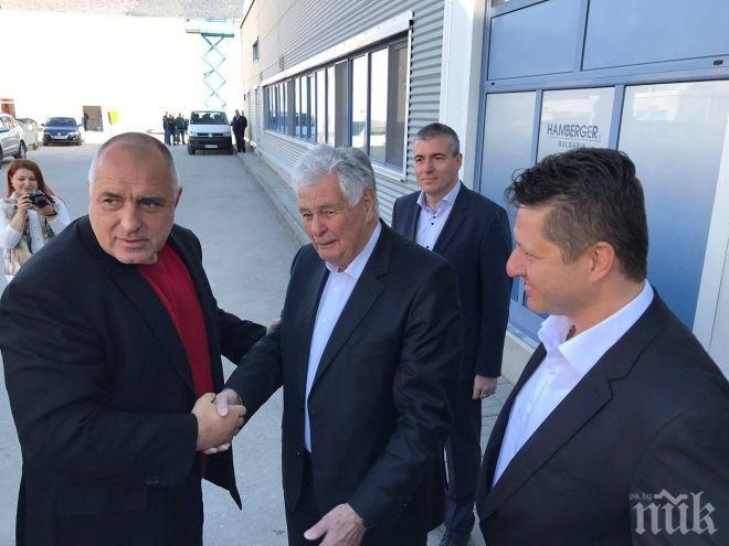 ПЪРВО В ПИК! Борисов с ключово обещание за данъците на среща с бизнеса (СНИМКИ)
