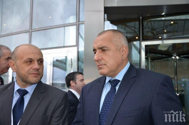 Борисов и Дончев на важно посещение в област Габрово