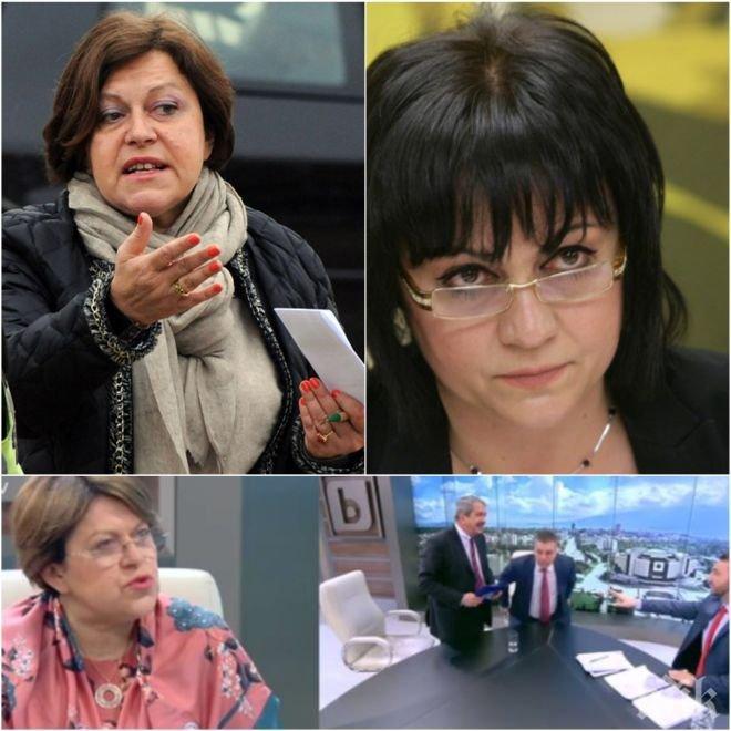 ЕКСКЛУЗИВНО! Татяна Дончева посече Нинова: Последните законодателни мохикани - тя ги отстрани от парламента
