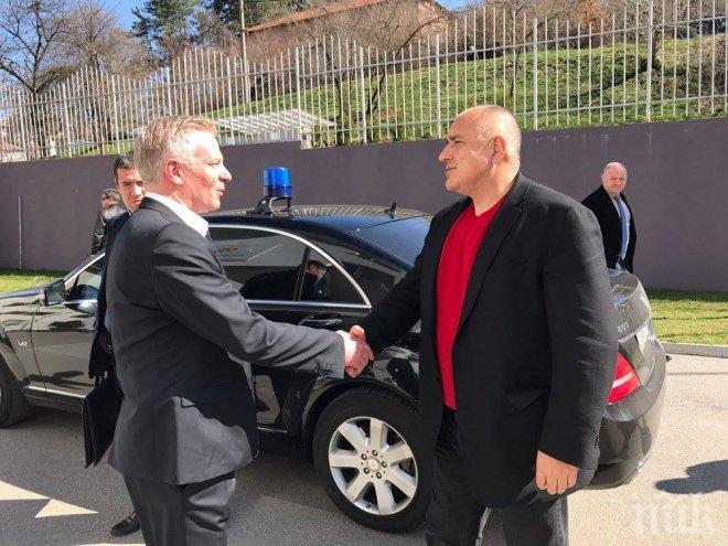 Борисов се срещна с немски инвеститори (СНИМКИ)