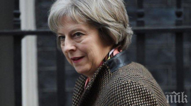 Тереза Мей свиква извънредно съвещание на антикризисния комитет