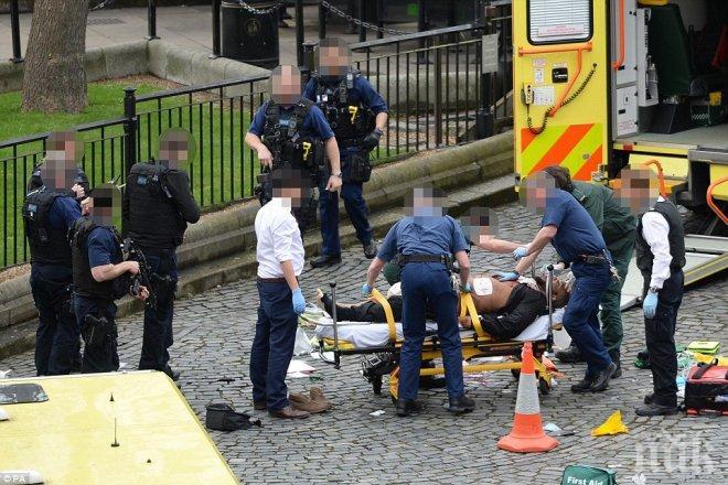 Ето го нападателя на британския парламент (СНИМКИ 18+)