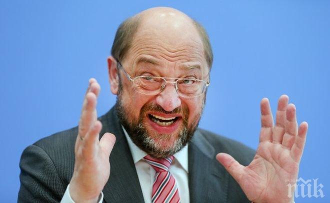 Мартин Шулц официално стана кандидат за канцлер на Германия