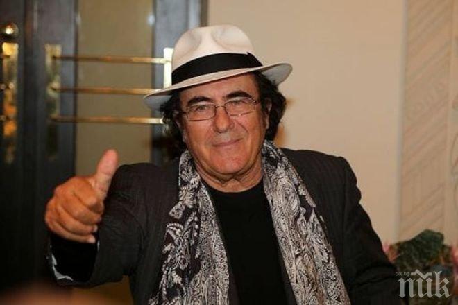Добра новина! Ал Бано се възстановява и ще може отново да пее на сцена