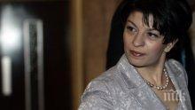 Острието на ГЕРБ Деси Атанасова гласува рано-рано (СНИМКА)
