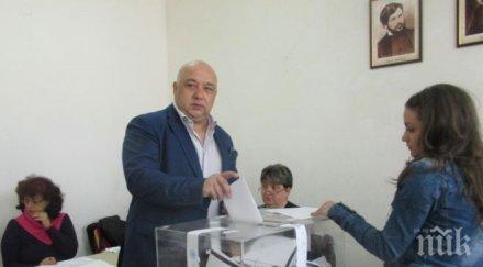 Красен Кралев гласува за стабилно и европейско развитие на България