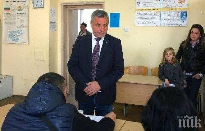 Валери Симеонов: Гласувах за политическата сила, която изгради оградата по българо-турската граница