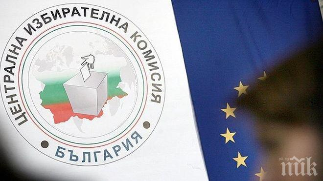 ЦИК: ГЕРБ печели изборите и извън страната при 92.45% обработени протоколи
