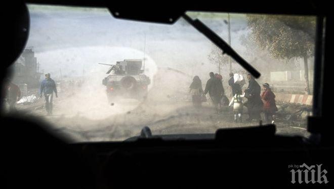Иракската армия освободи два квартала в Мосул