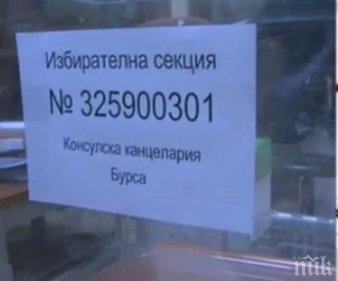 ОТ ПОСЛЕДНИТЕ МИНУТИ! Българите в Бурса масово не могат да си попълват декларациите
