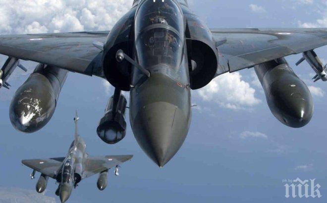 Френски военен самолет е извършил разузнавателен полет близо до границата с Русия