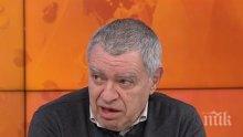 Проф. Константинов срази мераците на Нинова: Коалиция вляво е невъзможна!