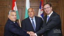 ПЪРВО В ПИК! Виктор Орбан и Александър Вучич към Бойко Борисов: Убедени сме, че ще съставите силно и стабилно правителство
