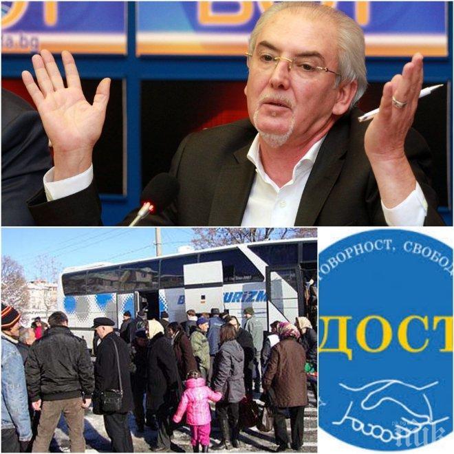 Български изселници в Турция търсят сметка на ДОСТ за провала на изборите