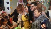 СКАНДАЛНО ИЗХВЪРЛЯНЕ! Сашо Кадиев се изръси с 3 бона за детско парти - 2-годишната му щерка празнува рожден ден по холивудски