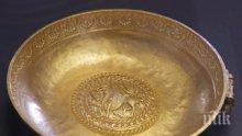 Уникално златно съкровище идва за първи път у нас